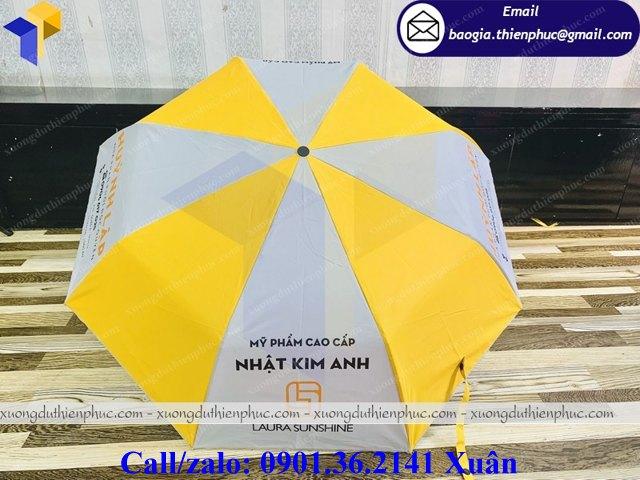 ô dù cầm tay in logo giá rẻ